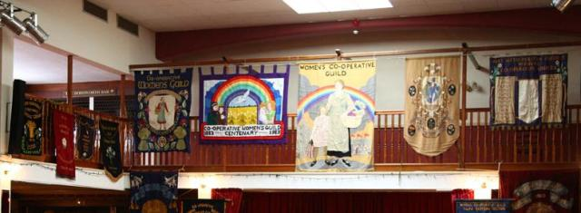 co-operative women's guild banners