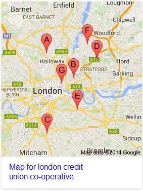 london credit union map
