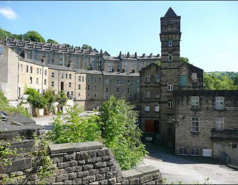Hebden Bridge Nutclough Mill